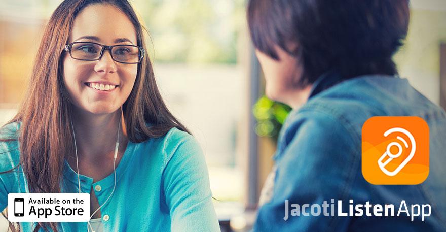 Jacoti Listen App
